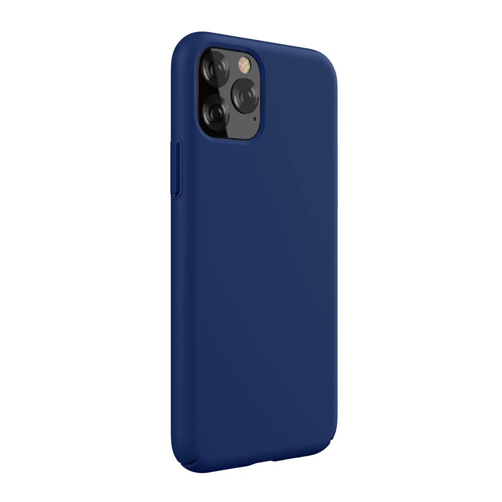 DEVIA Capa de Silicone Nature para iPhone 11 Pro (Azul)