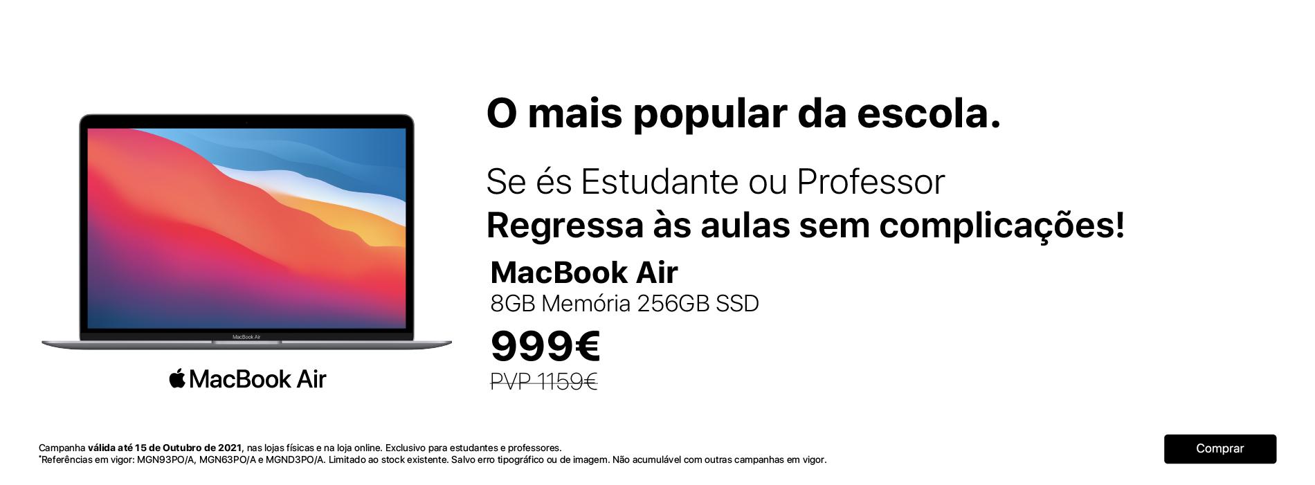 MacBook Air 999€