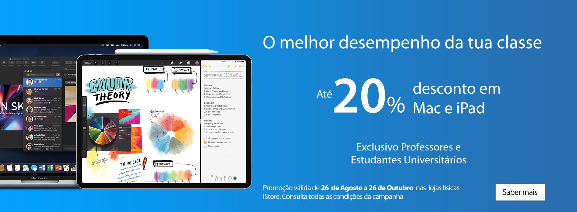 Homepage Slideshow - Campanha Regresso às Aulas 2019