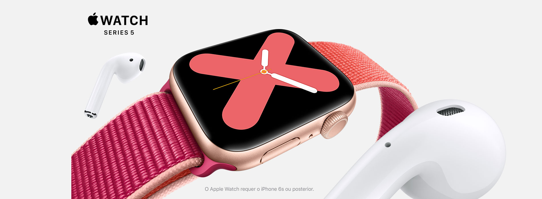 Homepage Slideshow - Apple Watch Serie 5
