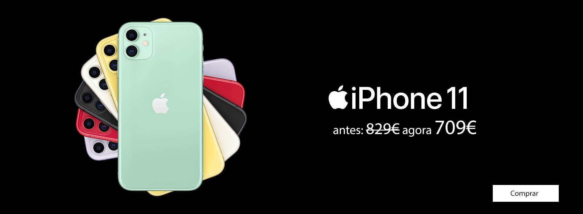Homepage Slideshow - iPhone 11 Reprice 709€