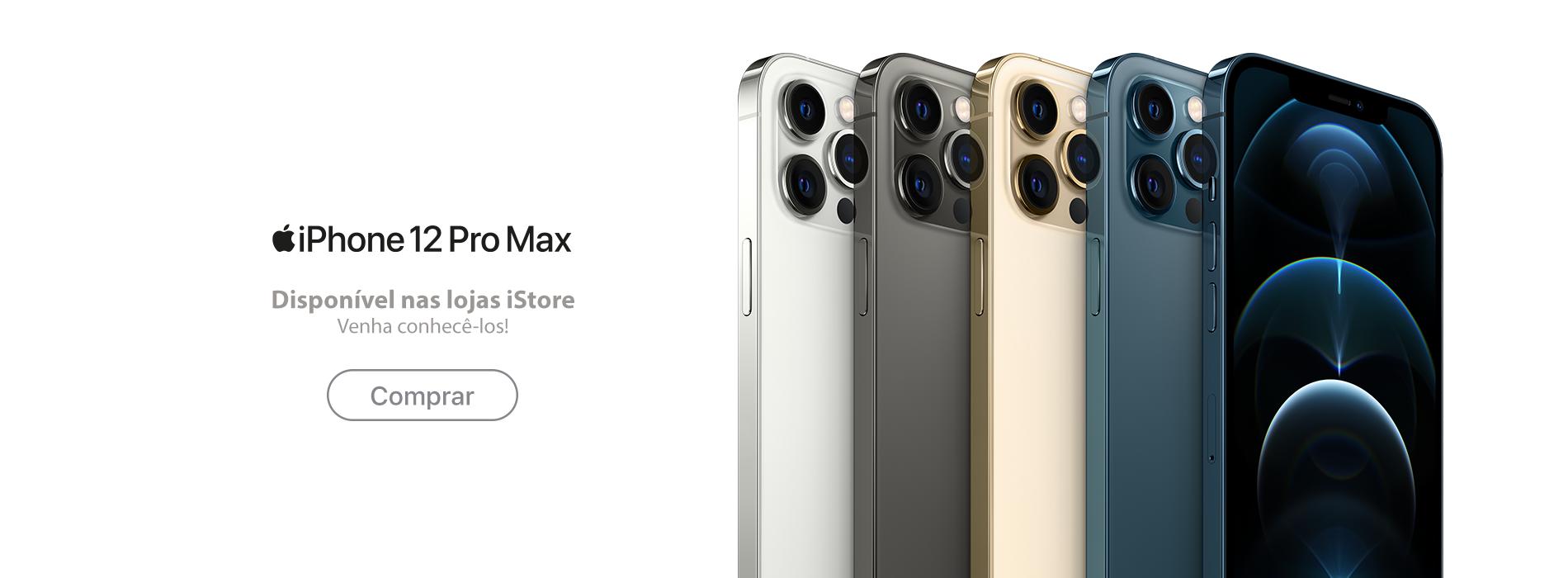 Homepage Slideshow - iPhone 12 Pro Max - Comprar